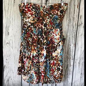Torrid animal print dress